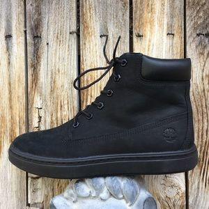 NWT Timberland Londyn 6 Inch Sneaker Boot Black 9